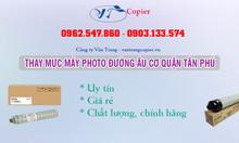 Thay mực máy photo đường Âu Cơ quận Tân Phú