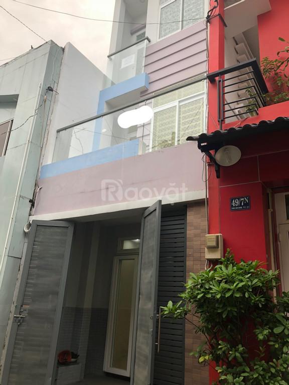 Cho thuê nhà 1 trệt 2 lầu số 49/7M Trần Văn Đang,Q3, tiện làm VP, KD