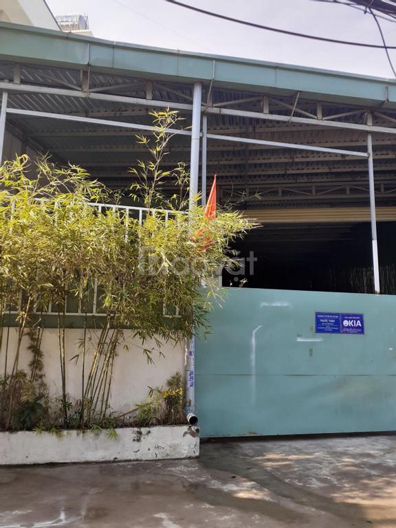Cho thuê nhà xưởng 450m2 đường TA04 quận 12