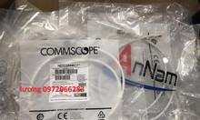 Dây nhảy cat6a dài 1.5m commscope npc6aszbd-wt001.5m npc cat 6a