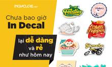 In decal, in label, in nhãn, in sticker