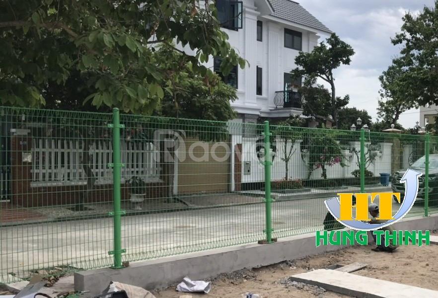 Hàng rào lưới D4, hàng rào lưới thép hàn mạ kẽm sơn tĩnh điện