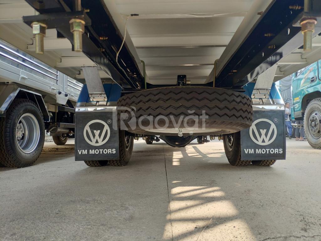 Giá xe tải isuzu 1.9 tấn thùng kín dài 6.2 mét vào thành phố