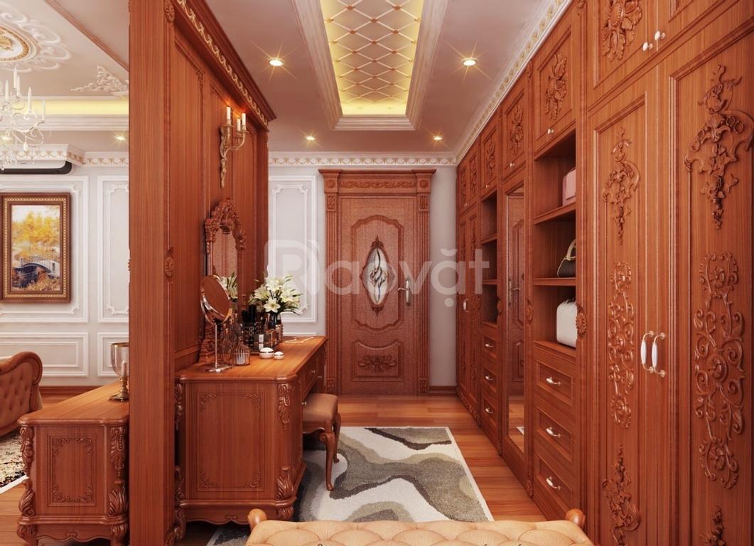 Thiết kế thi công nội thất cổ điển quận 4