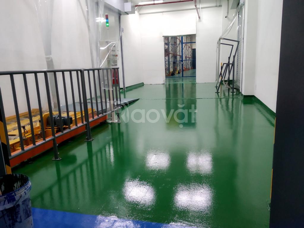 Đại lý cung cấp Sơn sàn chịu axit không dung môi Nanpao 933 chính hãng