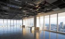 2.200m2 sàn thông trần cao hơn 5m ở Cầu Giấy giá chỉ 150.000đ