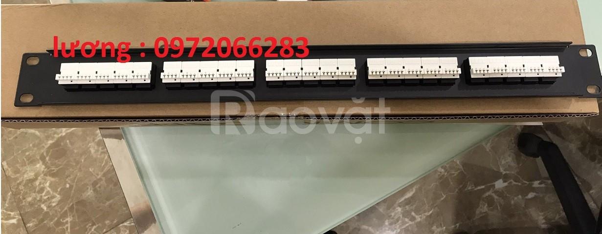 Thanh đấu nối Patch Panel RJ11 Cat3 AMP 50port