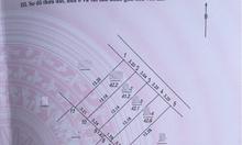 Bán 43m2 đất thổ cư Phúc Đồng hướng Đông Bắc ngõ 2,2m ô tô đỗ cổng