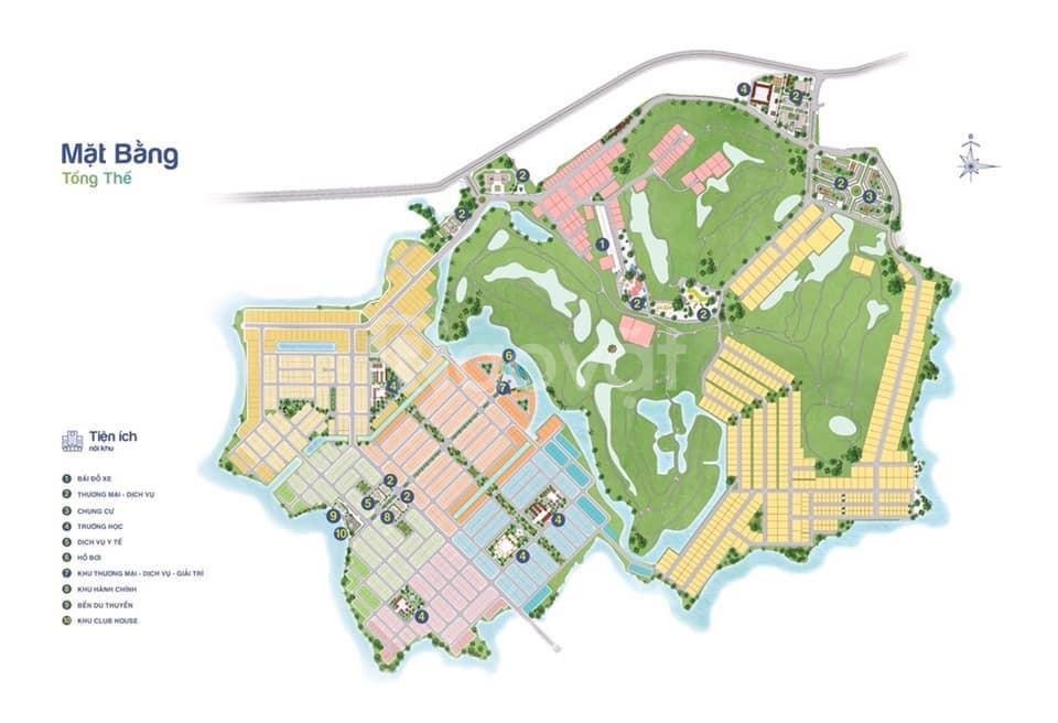 Mở bán phân khu 1 dự án đất nền Biên Hoà New City - Golf Long Thành