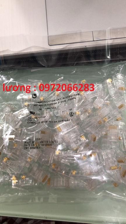 Hạt mạng RJ45 Cat5e Commscope/ AMP  mã :6-554720-3