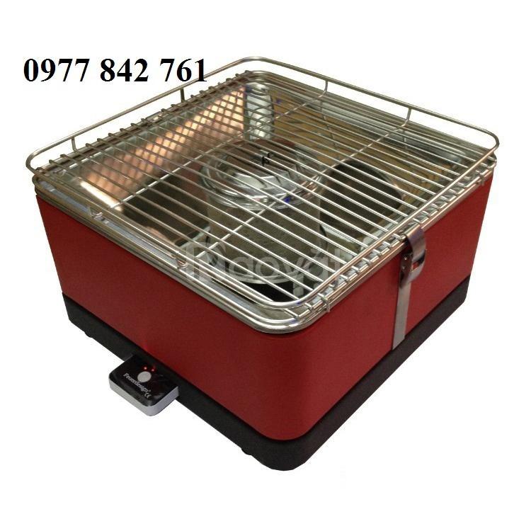 Bếp nướng than hoa không khói hình vuông Phù Đổng PD17 D115