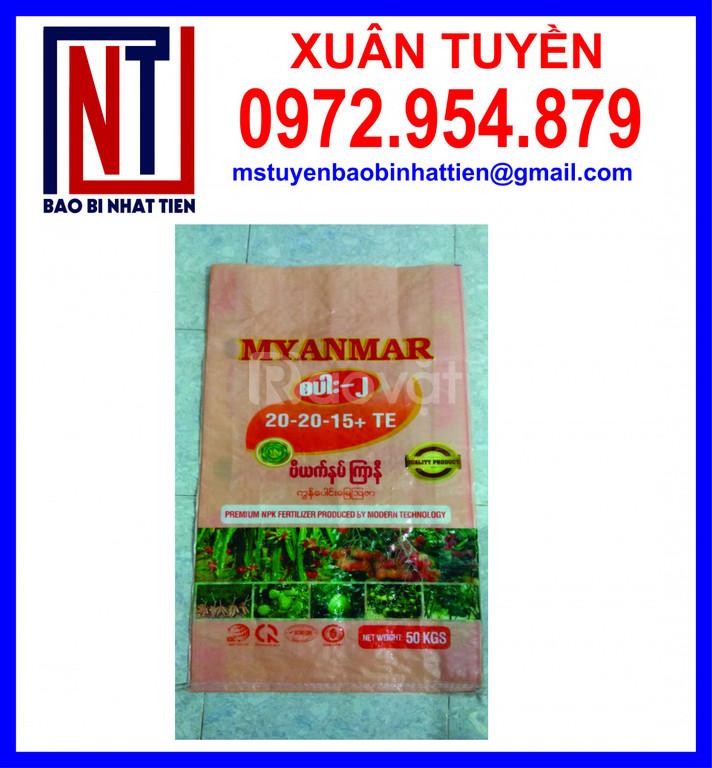 Sản xuất bao PP ghép màng đựng lúa gạo, phân bón