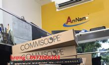 Thanh đấu nối patch panel cat6a amp (Commscope) chống nhiễu, 24 port