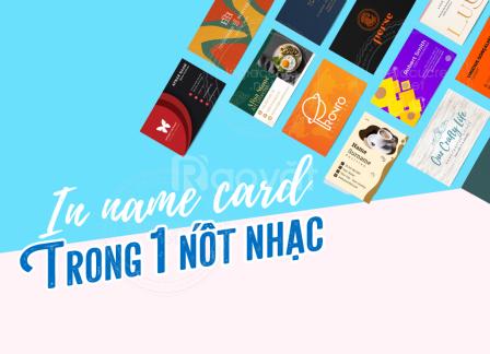 In name card lấy liền (trong 60 phút)