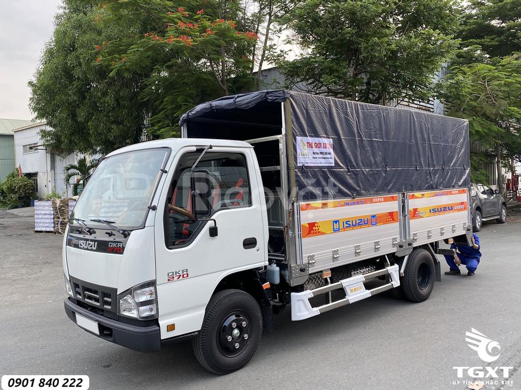 Sở hữu ngay xe tải Isuzu QKR270 chỉ với 120tr