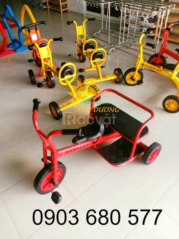 Cung cấp xe đạp 3 bánh chuyên dụng cho bé mầm non giá tốt