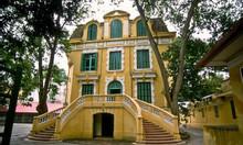 Bán villa 520m2 mặt phố Lê Thánh Tông, Hoàn Kiếm MT 15m