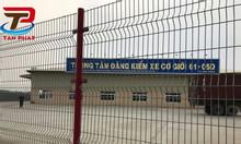 Hàng rào trường học, hàng rào lưới thép, hàng rào công trình