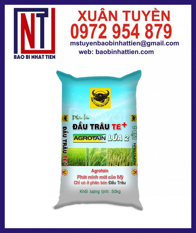 Bao pp dệt đựng phân bón NPK, hữu cơ, vi sinh…