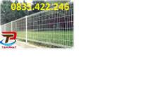 Hàng rào lưới thép hàn cột trái đào, cột vuông, cột tròn