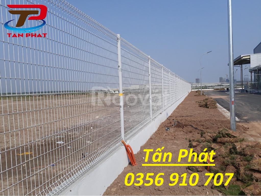 Hàng rào lưới thép mạ kẽm, mạ điện phân