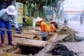 Bơm hút bể phốt, nạo vét cống tại Vĩnh Quỳnh, Thanh Trì