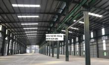 Cho thuê kho xưởng DT 4200m2 KCN Duyên Thái, Thường Tín, Hà Nội