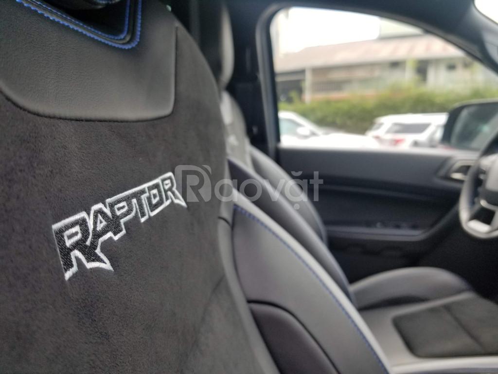 Ranger Raptor Vin 2020 xanh giao ngay