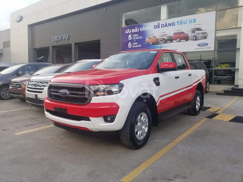 Ford Ranger xls at 2020 trắng giao ngay