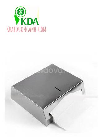 Hộp giấy lau tay treo tường nhà vệ sinh bằng inox, nhựa ABS Kiên Giang