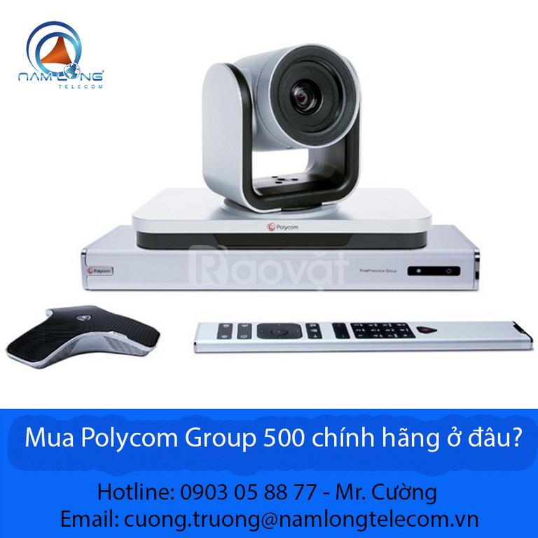 Mua Polycom Group 500 chính hãng ở đâu?