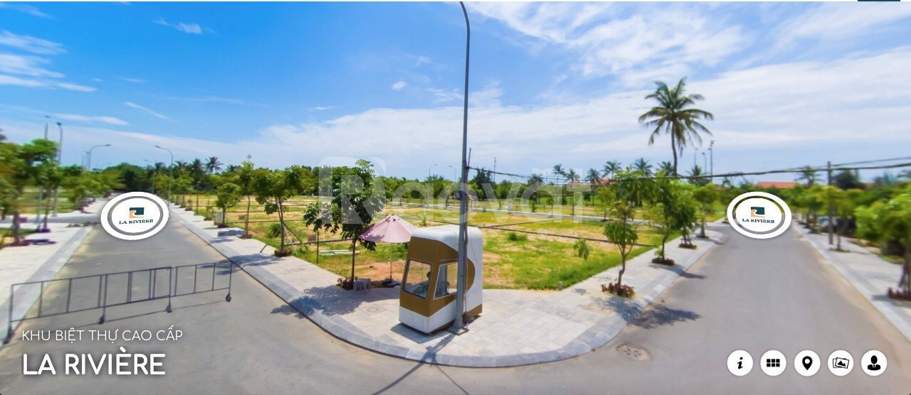 Đất nền biệt thự ngay cửa biển, bán đảo Bảo Ninh, Quảng Bình, 27tr/m2.