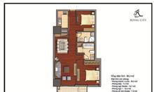 Chính chủ bán căn hộ Royall City 2 ngủ 88,3 m2 giá 3.650 tỷ