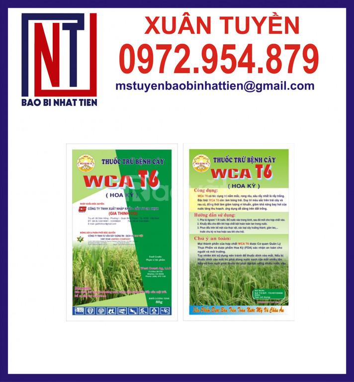 Bao bì đựng thuốc trừ sâu, thuốc bảo vệ thực vật