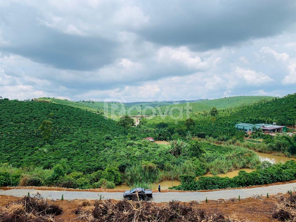 Đất view suối lớn, sông Đại Nga, 672tr/760m2, tặng vườn cây ăn trái