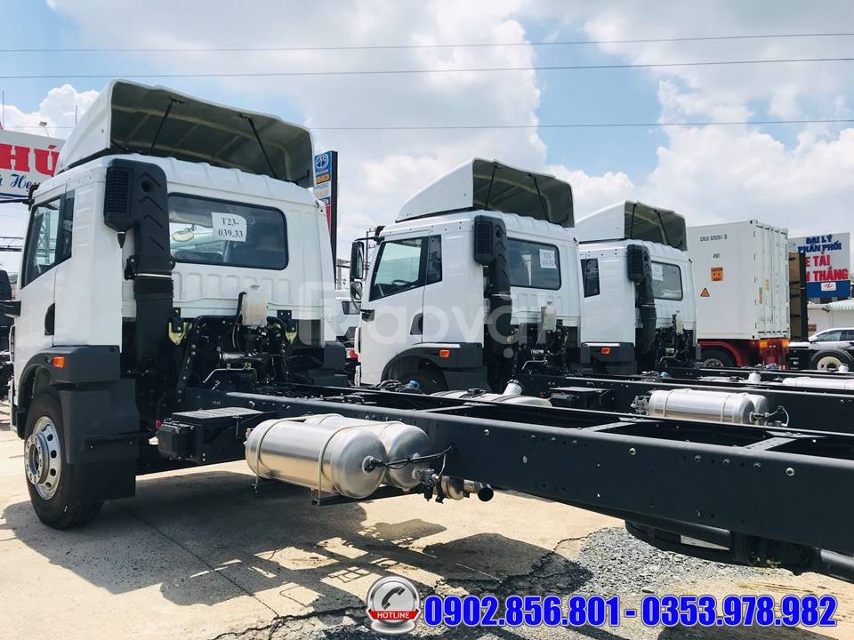 Xe tải thùng dài 8 mét, xe tải faw 8 tấn thùng dài