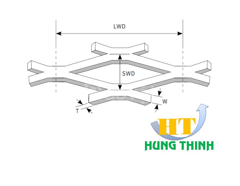 Lưới thép dập giãn hàng có sẵn và sản xuất theo yêu cầu