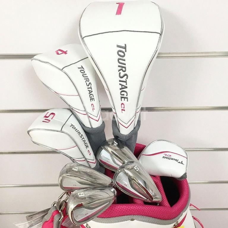 Cần bán bộ gậy golf nữ Tourstage hàng mới chính hãng