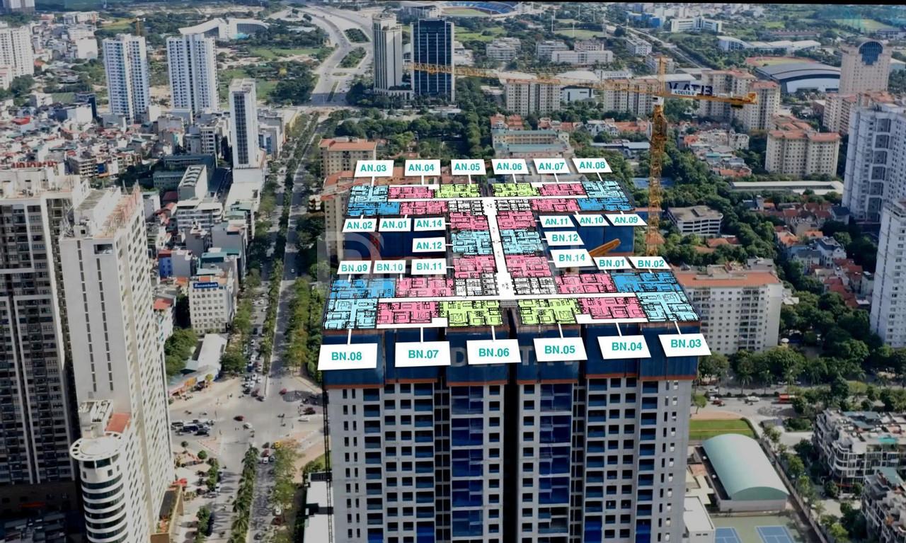 Bán căn hộ chung cư TheZei mỹ đình, ls 0% 24 tháng, ck 8%, LH 0969696863