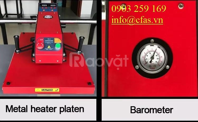 Máy ép nhiệt thủy lực hơi 2 mâm khổ 40x60