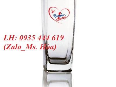 Ly thủy tinh in logo quà tặng khách hàng, nhân viên ở Quảng Nam