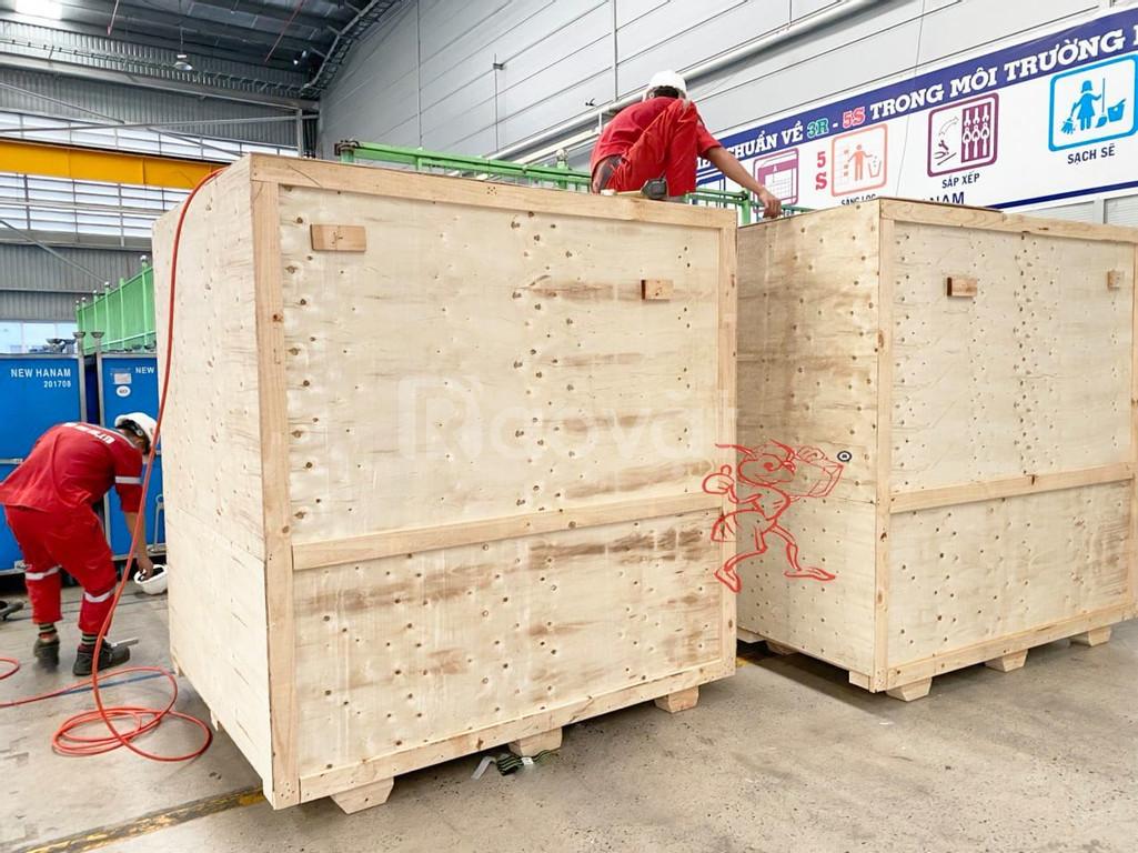 Dịch vụ đóng gói hàng hóa vận chuyển trong nước tại KCN Điền Thụy