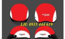 Mũ bảo hiểm in logo quảng cáo, tặng quà khách hàng tại Quảng Nam