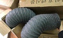 Ống gió mềm vải, ống vải phi 300, phi 400, phi 500 thông gió, hút khí.