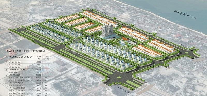 Chào bán 162 m2 khu Sa Động - Đồng Hới, nhìn ra bãi tắm Bảo Ninh