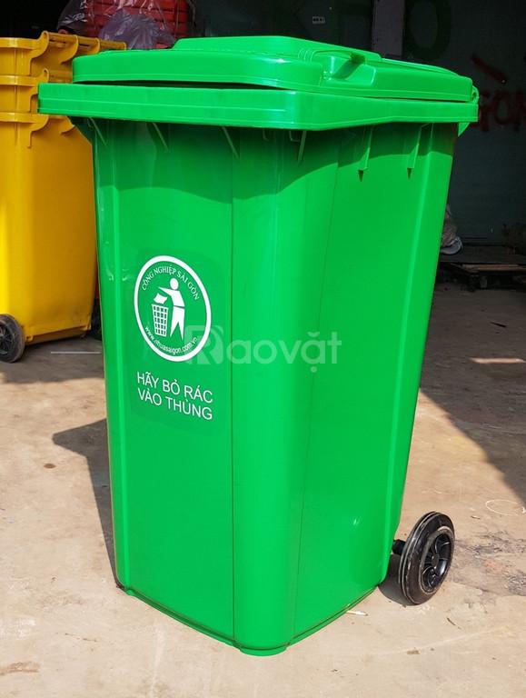 Thùng rác công cộng 120l 240l 660l sỉ lẻ giá tốt