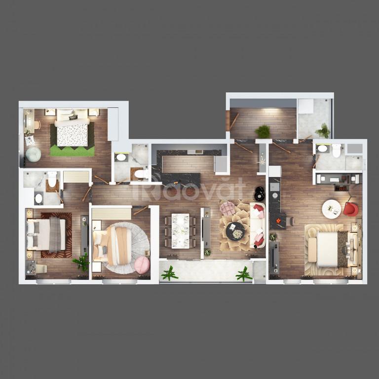 Chính chủ bán căn hộ 140m2 4 PN trung tâm Hà Đông