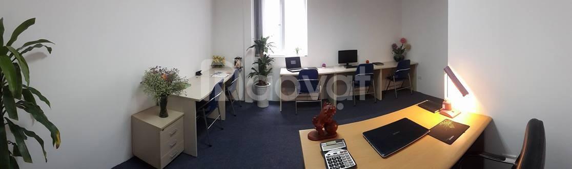 Văn phòng tại Chùa Láng, Đống Đa phù hợp cho 1-4 người