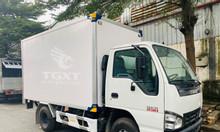Xe tải Isuzu QKF 1T9 giao xe ngay, thùng dài 3m6