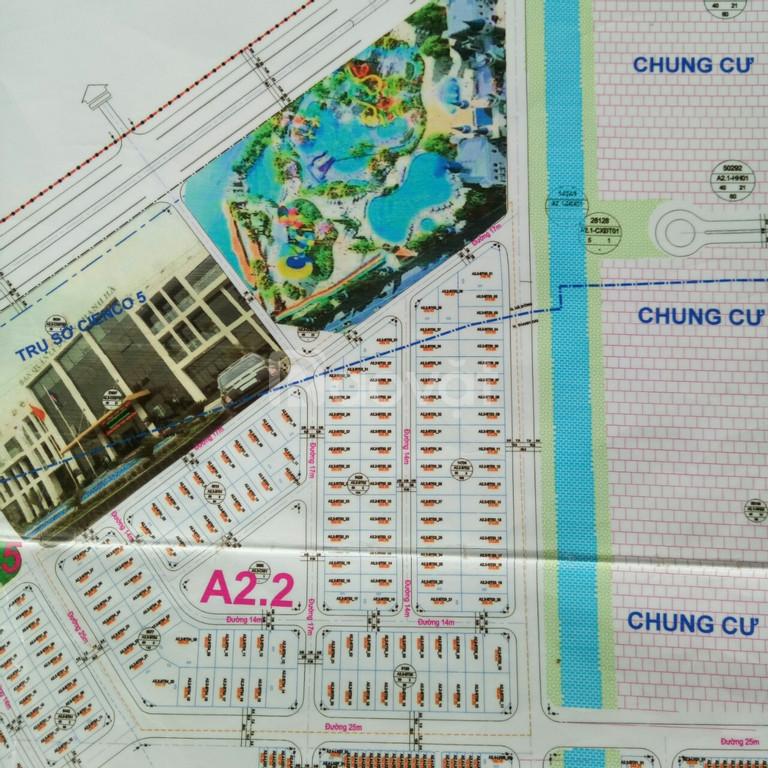 Cần bán biệt thự mặt kênh A2.2 gần công viên nước LH 0932 392 898